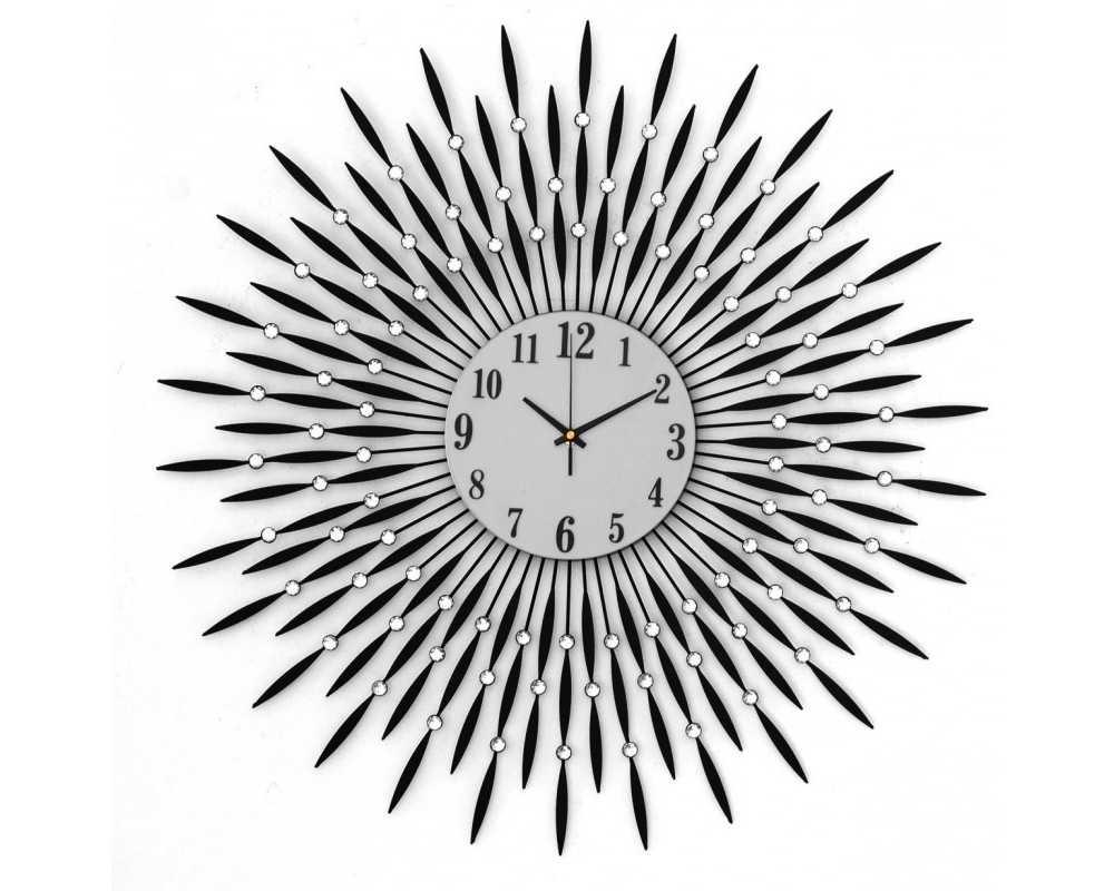 Zegar ścienny Crystal - DIamond - Nowoczesny zegar ścienny Nextgeneration DIAMOND listki
