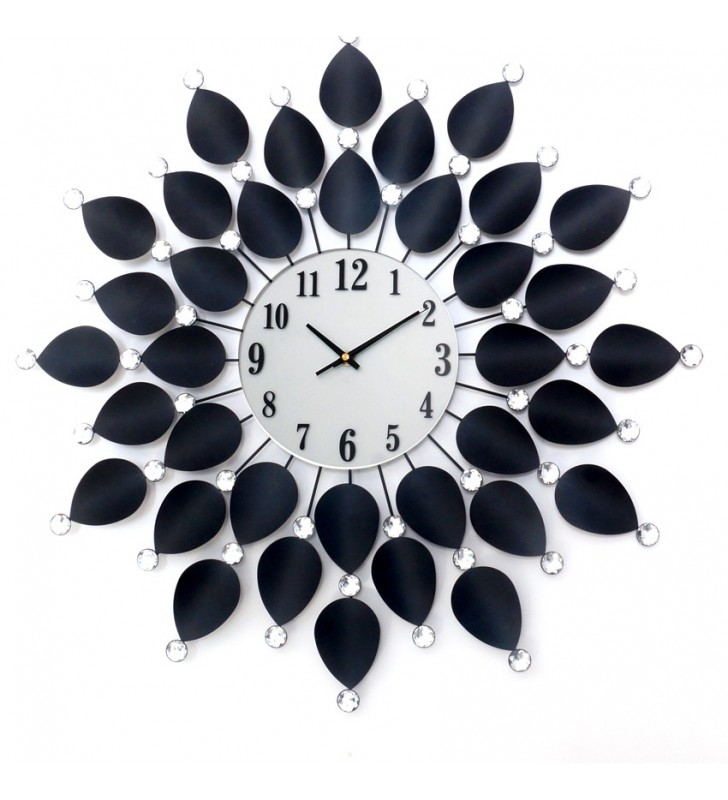 Zegar ścienny Crystal - DIamond - Nowoczesny zegar ścienny diamond 1204