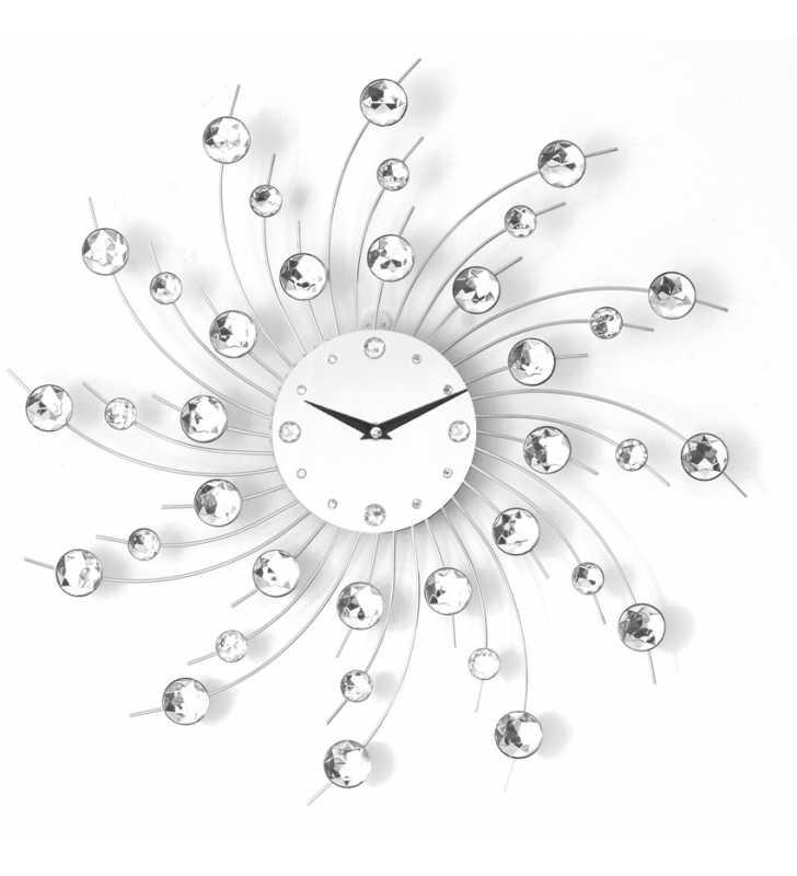 Zegar ścienny Crystal - DIamond - Nowoczesny zegar ścienny Nextgeneration DIAMOND 907 e-6