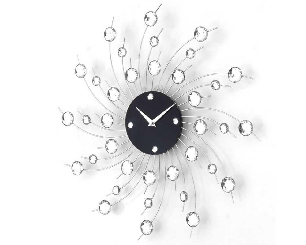 Zegar ścienny Crystal - DIamond - Nowoczesny zegar ścienny Nextgeneration DIAMOND 907 e-7