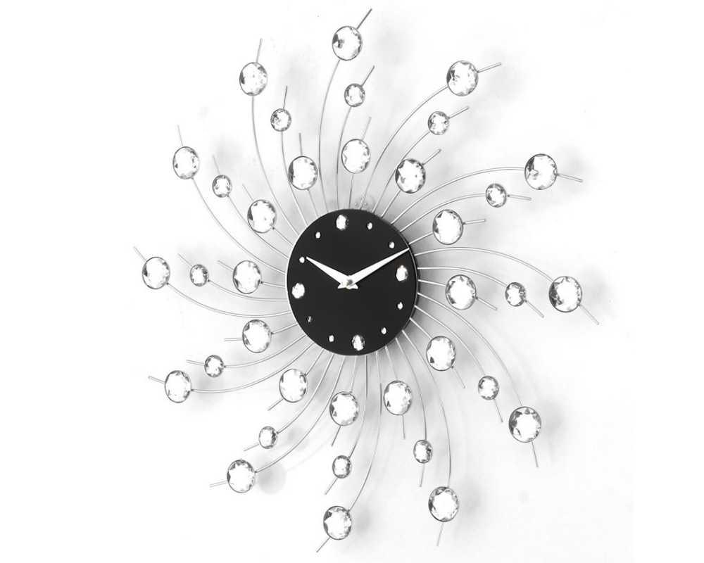 Zegar ścienny Crystal - DIamond - Nowoczesny zegar ścienny Nextgeneration DIAMOND 907 e-8